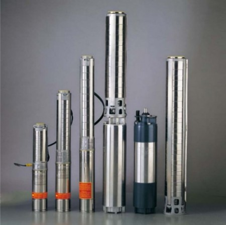 submersible pump with motor